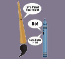 Lets Paint The Town! - Grey Kids Clothes