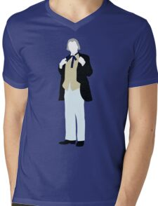 The First Doctor - Doctor Who - William Hartnell (Alt. Version) Mens V-Neck T-Shirt