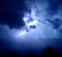 Lightning in Lebanon by Kathryn Wuerker