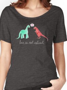 Love Is Not Extinct Women's Relaxed Fit T-Shirt
