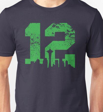 Seattle City of 12 Unisex T-Shirt