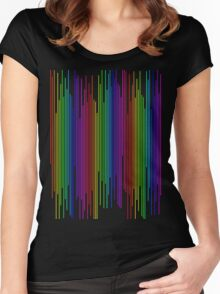 Rainbow Bar Women's Fitted Scoop T-Shirt