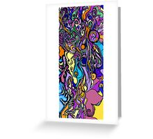 Colorful Experience Greeting Card