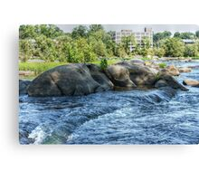 The James River Canvas Print