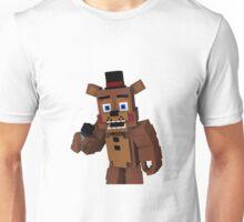 Five Nights At Freddy's - Minecraft Freddy Unisex T-Shirt