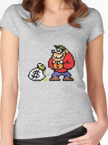 BEAGLE BOY Women's Fitted Scoop T-Shirt