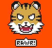 Pixel Tiger Kids Clothes