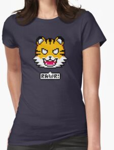 Pixel Tiger Womens Fitted T-Shirt