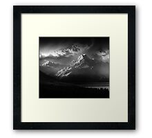 Calender 2014 - Mt Cook Framed Print