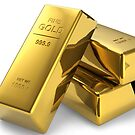 Gold Bullion  by TinaGraphics