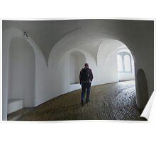 Round Tower Observatory Copenhagen Poster