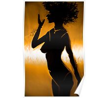 Woman Figure Poster
