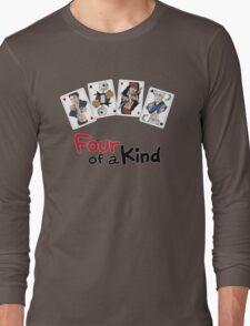 Four of a Kind Long Sleeve T-Shirt