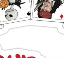 Four of a Kind Sticker