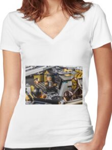 Han Solo stories Women's Fitted V-Neck T-Shirt