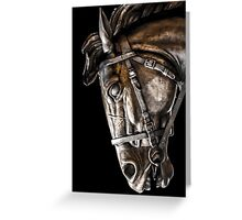 Shadow Steed Greeting Card