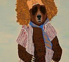 Workaholics Blake/Bear Sticker