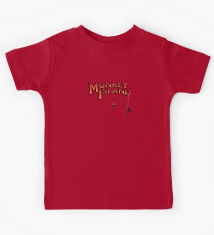 Monkey Island - Treasure found! Kids Tee
