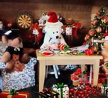 'So it's ALWAYS the men's job, wrapping the gifts?' by Nadya Johnson
