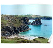 Lizard Coast, Cornwall Poster