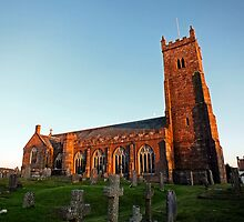 Moretonhampstead Church, Dartmoor by Ludwig Wagner