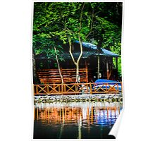 Small Wooden House Poster
