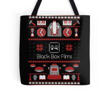 Black Box Films Christmas Sweater (Red) Tote Bag