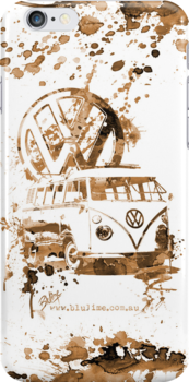 Volkswagen Kombi - Splash (sepia) by blulime