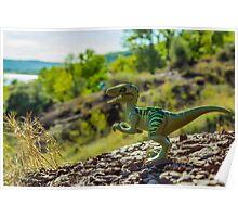Cretaceous world Poster