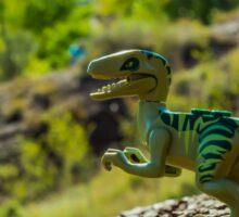 Cretaceous world Sticker
