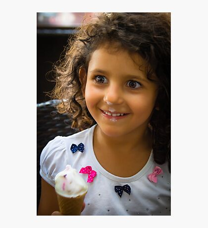 Happy Young Lady  Photographic Print