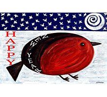 HAPPY NEW YEAR 3 Photographic Print