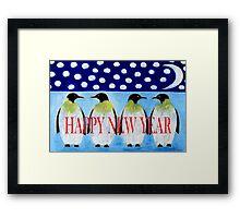 HAPPY NEW YEAR 5 Framed Print