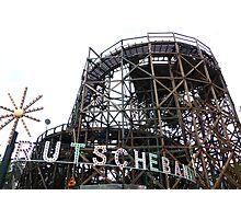 Bakken Amusement Park Copenhagen Photographic Print