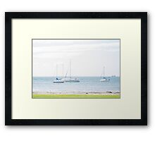 Geelong Water Framed Print