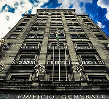Architecture in barcelona by Sotiris Filippou