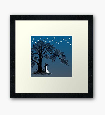 Follow the Stars Framed Print
