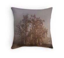 Foggy Dream Throw Pillow