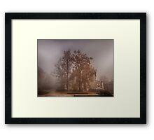 Foggy Dream Framed Print