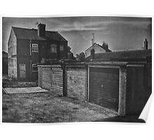 Garages and Houses Poster