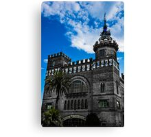 Castle of the three Dragons Canvas Print