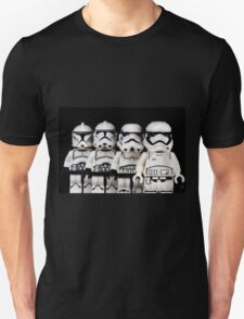 Evolution of a stormtrooper T-Shirt
