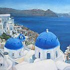 Santorini - Oia by Redilion
