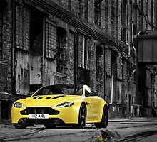 The new Aston Martin V12 Vantage S by M-Pics