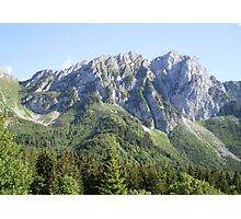 Mountain Landscape Photographic Print