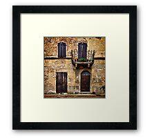 Volterra Framed Print