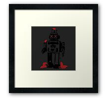 Robots and Nature Framed Print