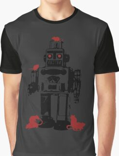 Robots and Nature Graphic T-Shirt