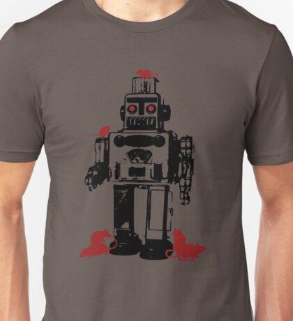 Robots and Nature Unisex T-Shirt