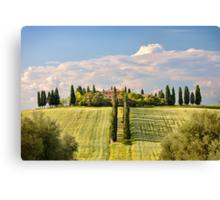 The villa Canvas Print